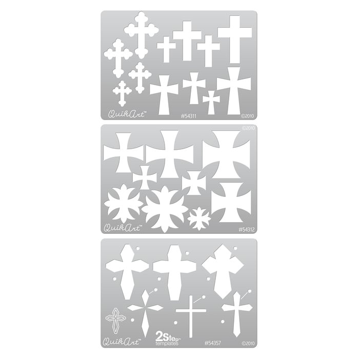 Metal Clay Templates Quikart Metal Clay Template Set Crosses
