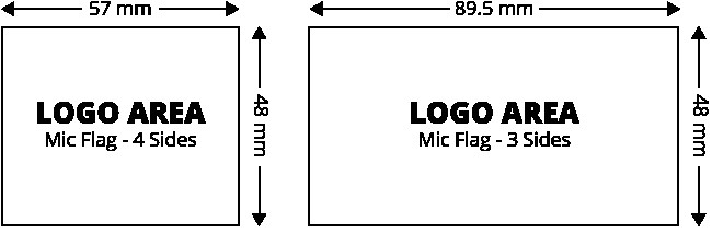 Mic Flag Template Mic Flags Rycote