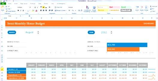 microsoft excel budget template 2013 o1494