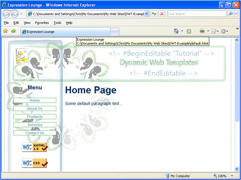 Microsoft Expressions Templates 26 Images Of Website Template Expression Web Leseriail Com