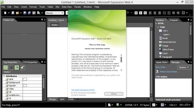 Microsoft Expressions Templates Microsoft Expression Web Wikipedia