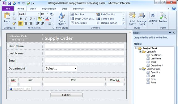 Microsoft Infopath form Templates Infopath Vs aspx which Electronic form is the Most Useful