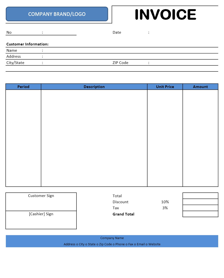 Microsoft Office 2003 Excel Templates Libreoffice Invoice Template Invoice Example