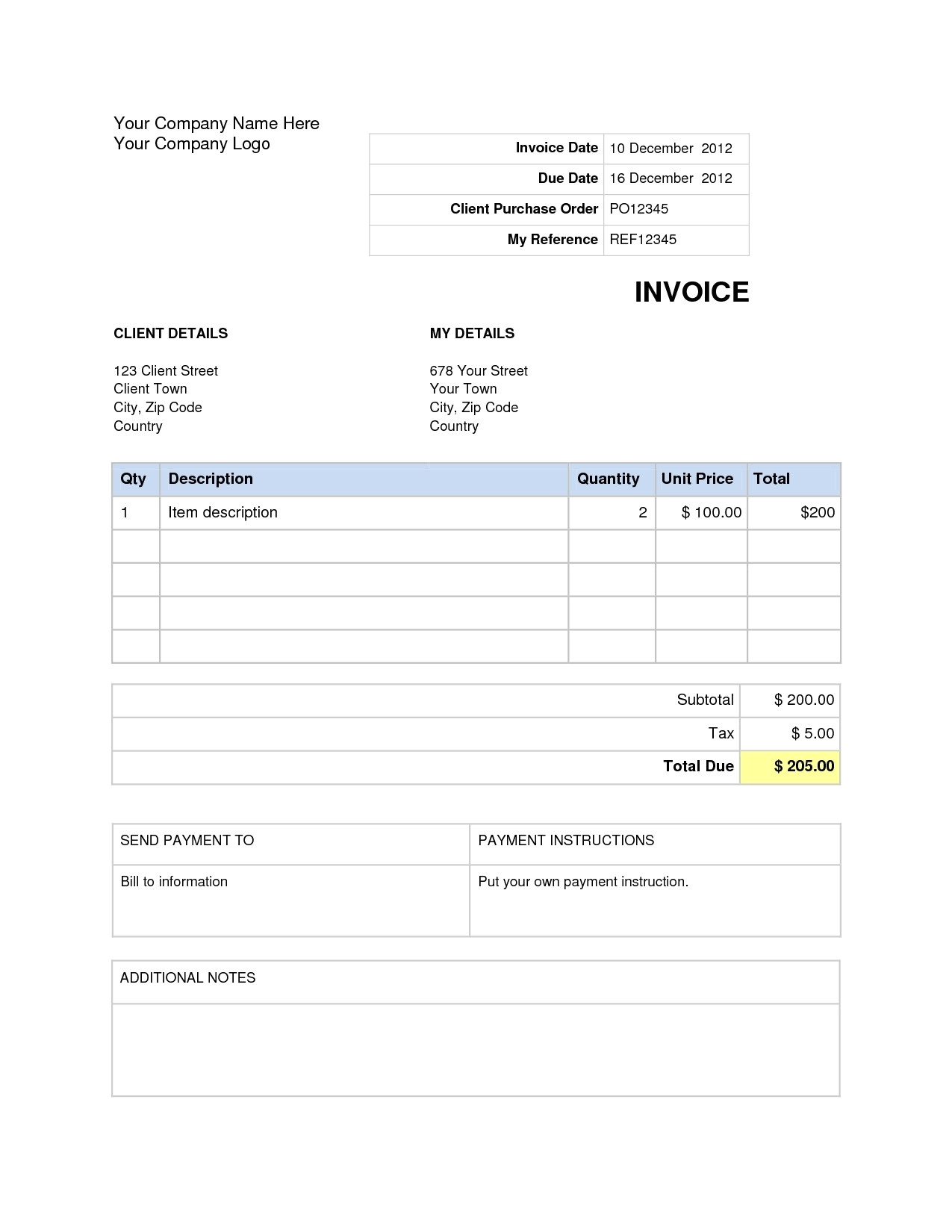 Microsoft Office 2003 Excel Templates Microsoft Office Invoice Invoice Template Ideas