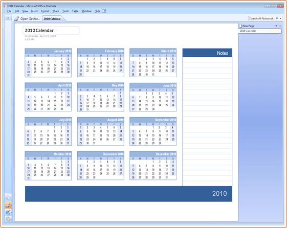 Microsoft Office 2010 Calendar Template 6 Microsoft Office Calendar Templates Bookletemplate org