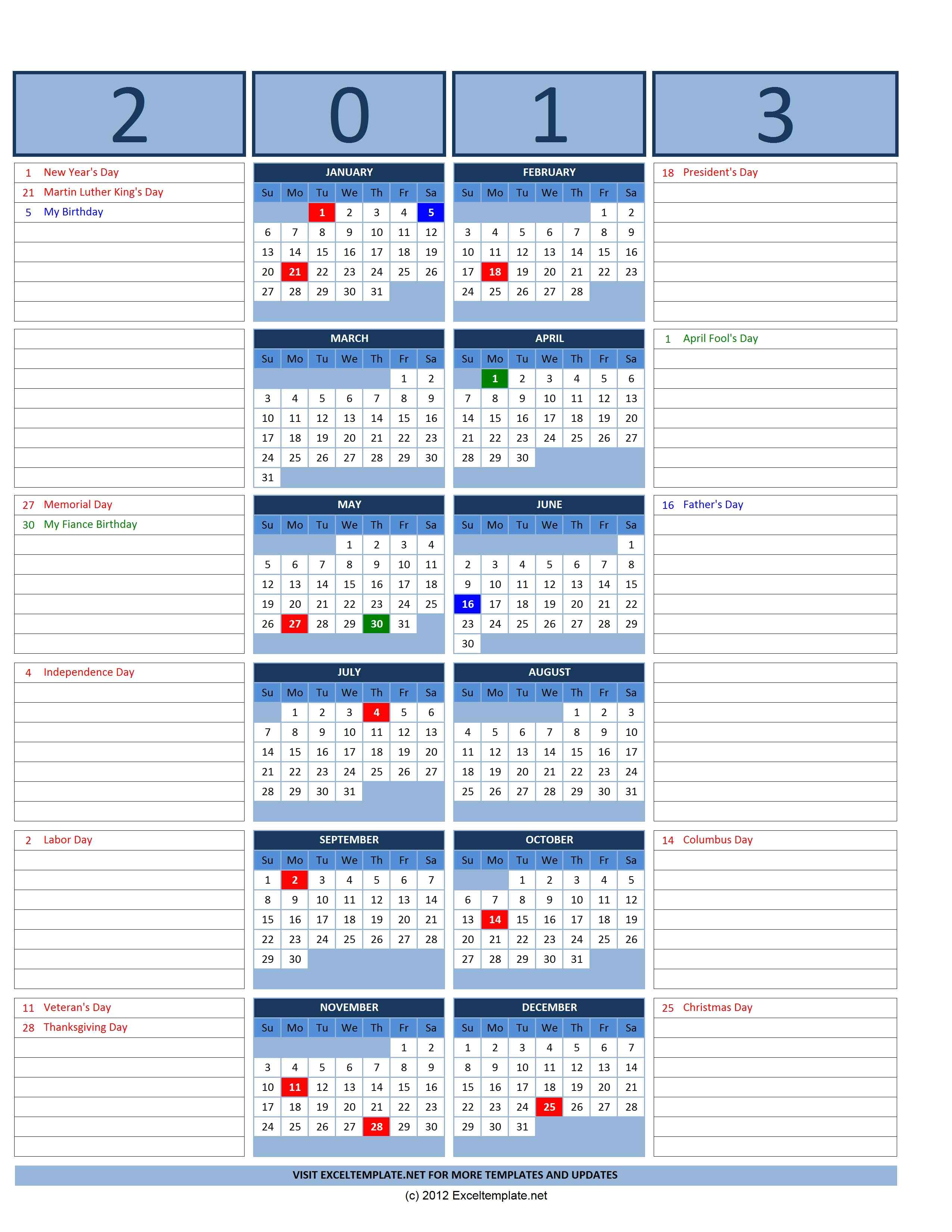 post openoffice calendar template 2013 38139