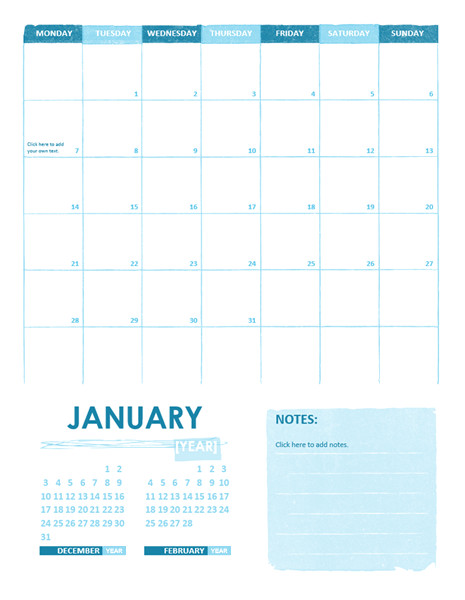 Microsoft Office 2013 Calendar Template Calendar Template for Office Microsoft Word Templates