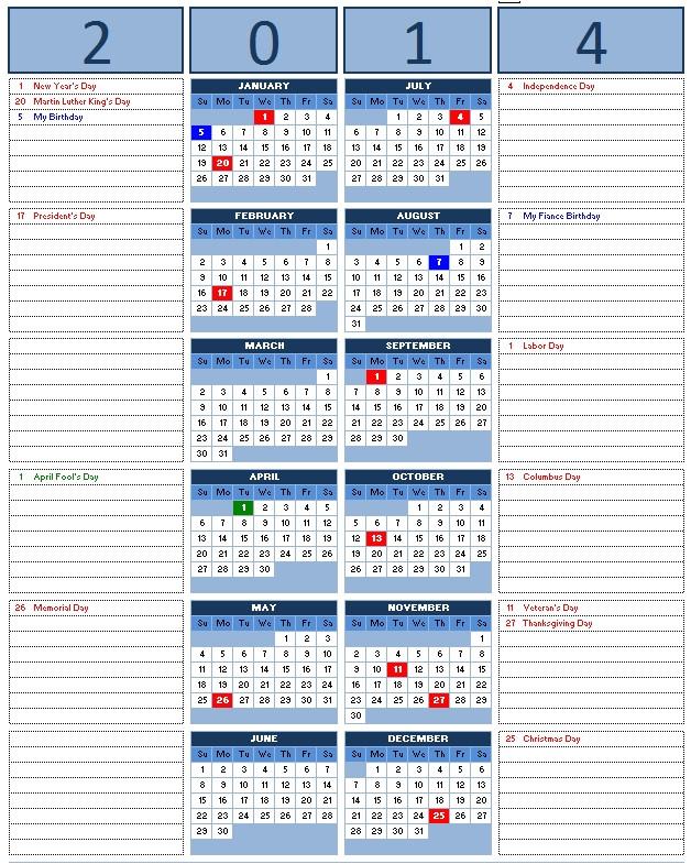 post 2014 yearly calendar microsoft word 38213