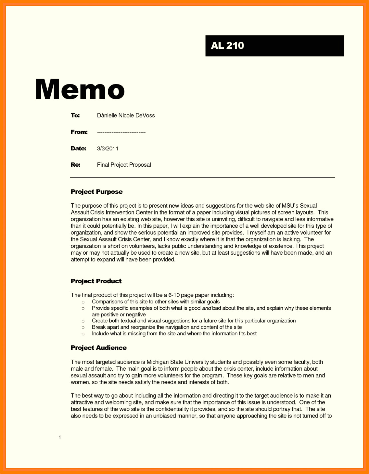free memo template word doc