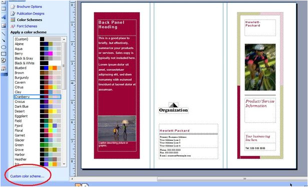 brochure templates microsoft publisher