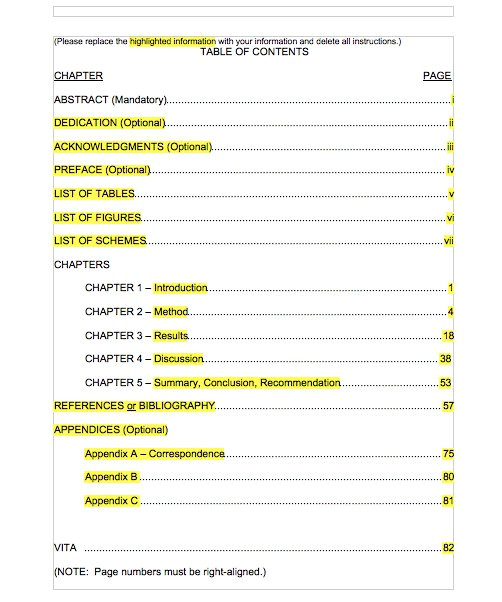 Microsoft Office Table Of Contents Template Microsoft Office Table Of Contents Template Templates Data