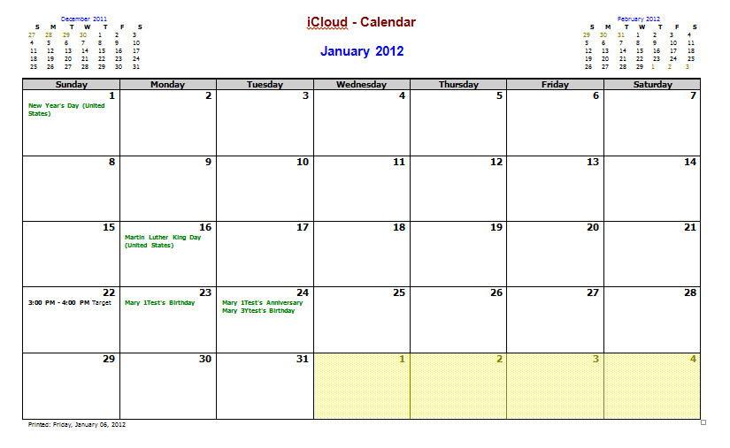 idiots guide amending outlook calendar template