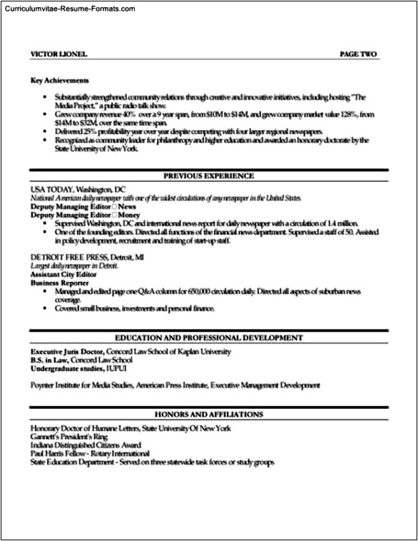 resume template publisher