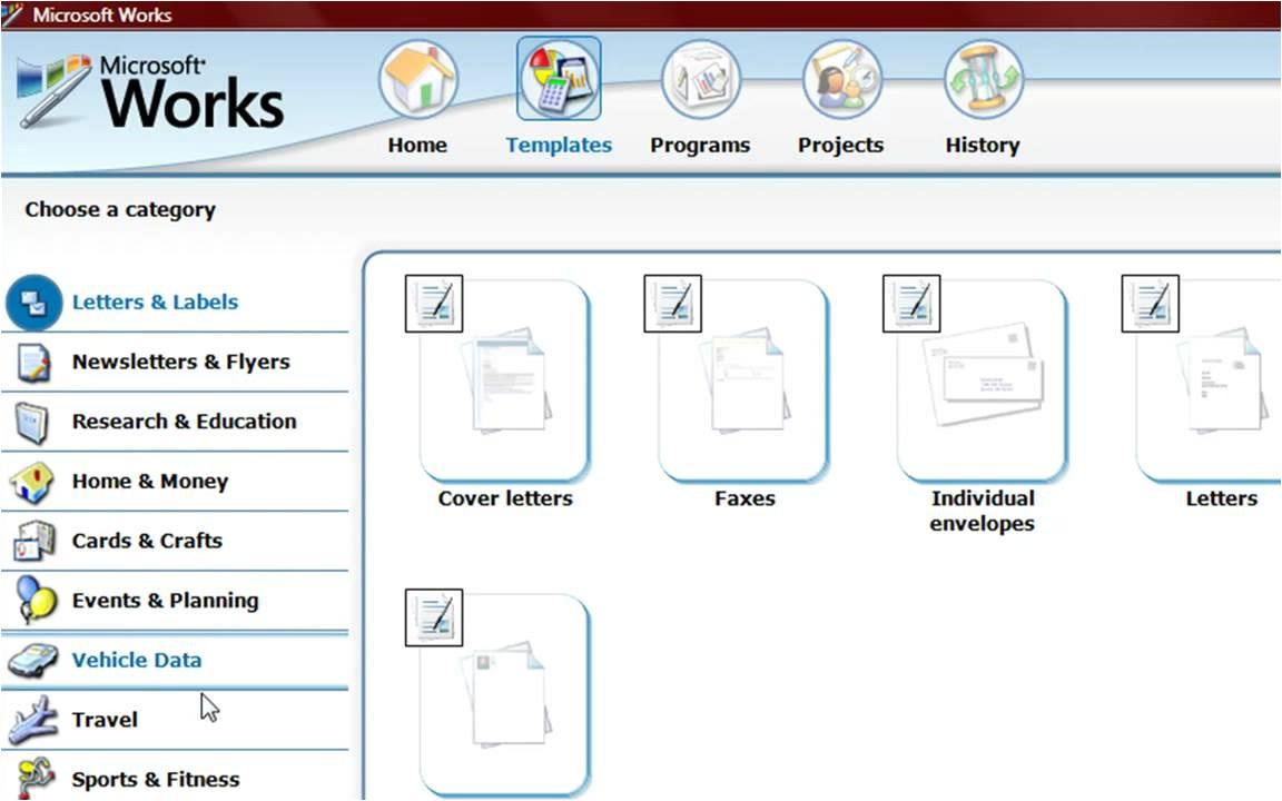 tag free microsoft works download
