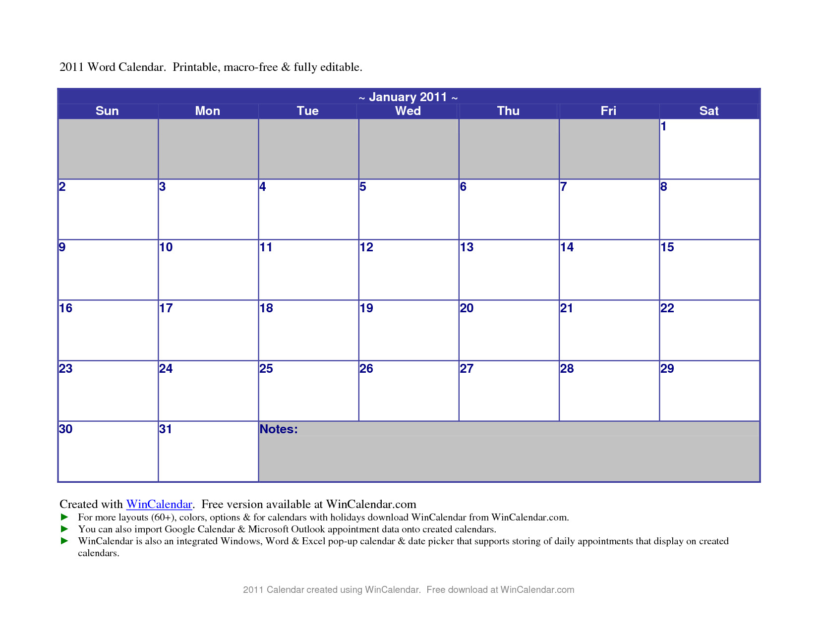 microsoft word 2014 calendar templates