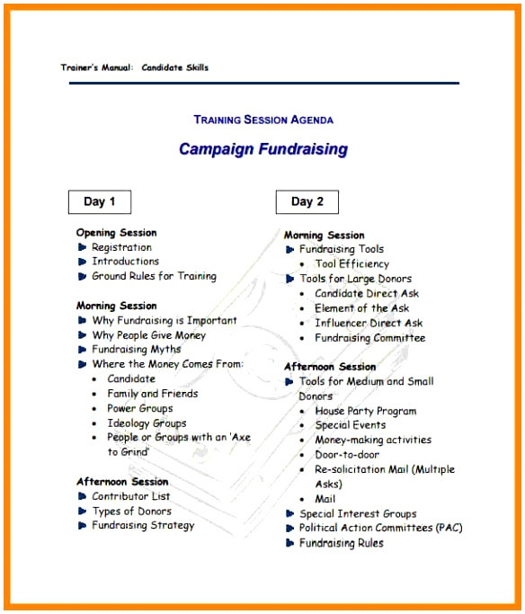military campaign plan template
