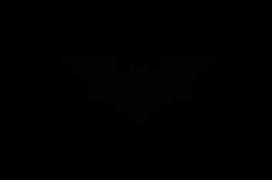 175899911 batman logo pixel art