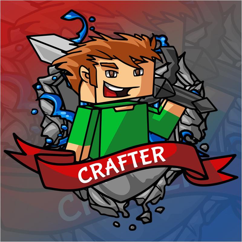 minecraft logo template 06
