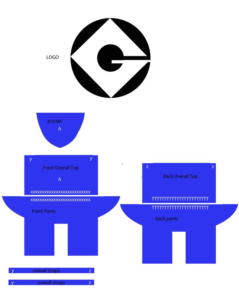 search q despicable me minion logo stencil form restab