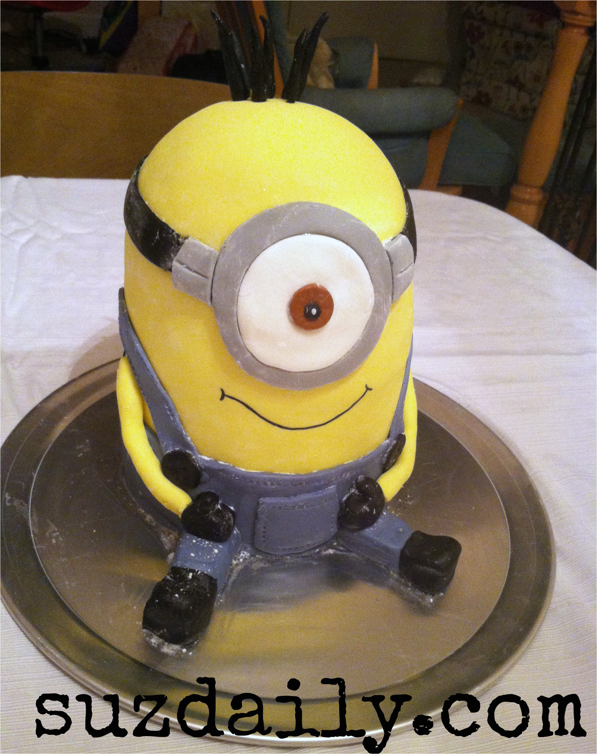 minion cake template shtml
