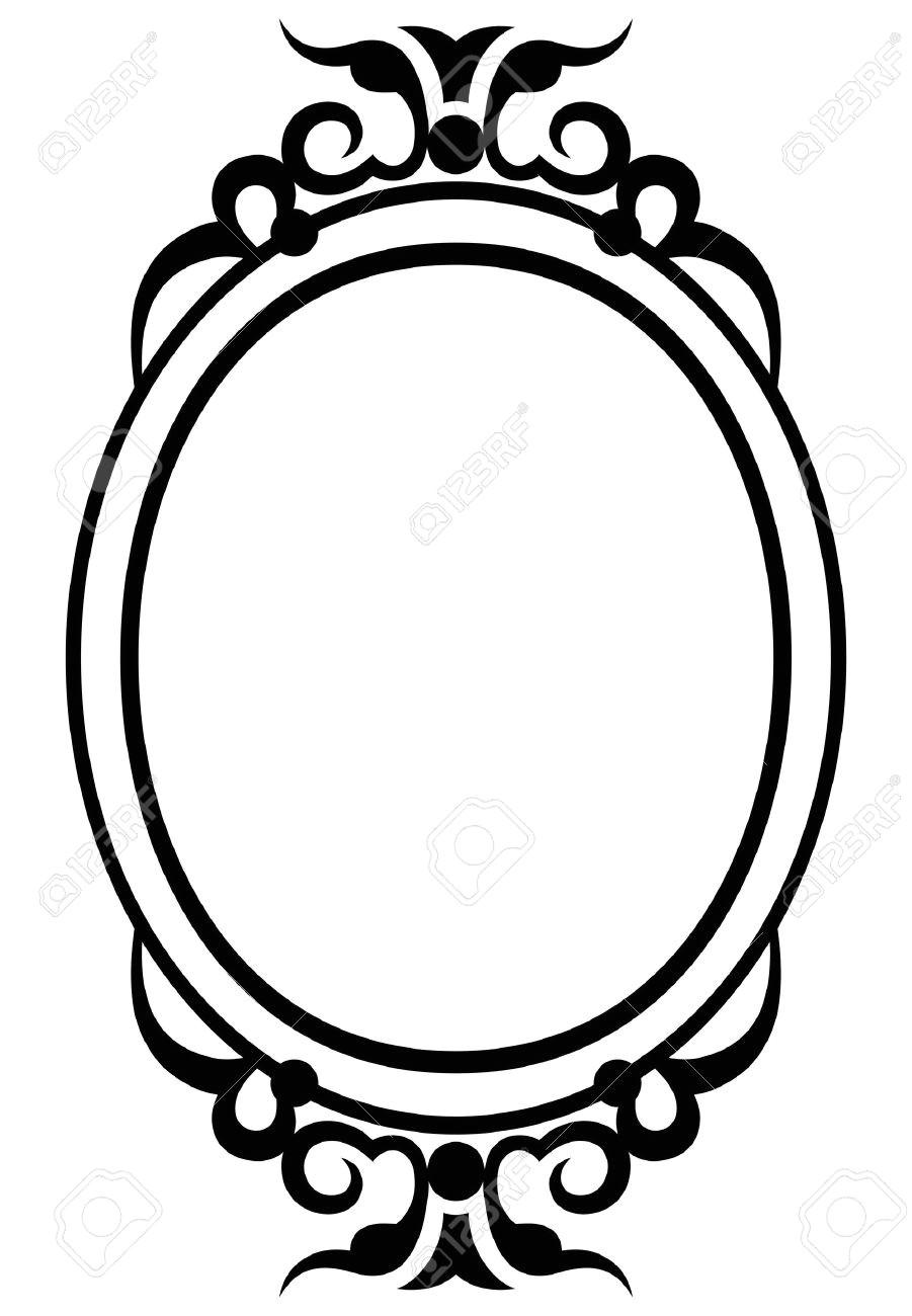 mirror frame clipart