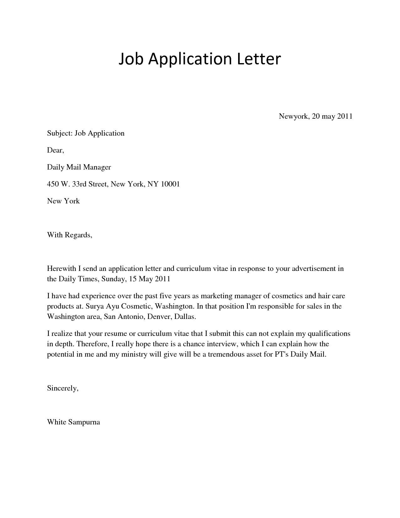 cover letter job application model best letter interest template job application fresh job application 2