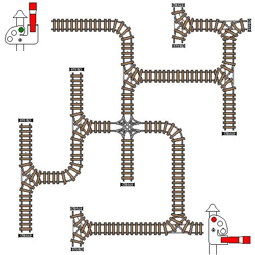 1 train track template randkey