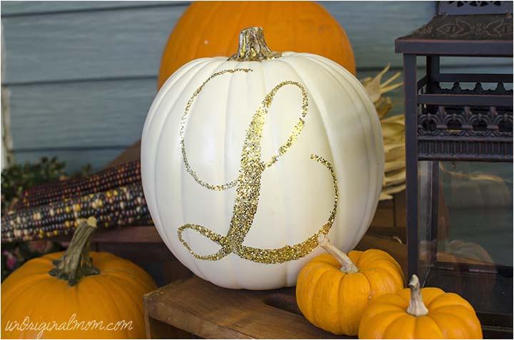 Monogram Pumpkin Templates 17 Creative No Carve Pumpkin Decorating Ideas
