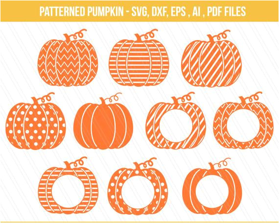 patterned pumpkin cut files dxf pumpkin