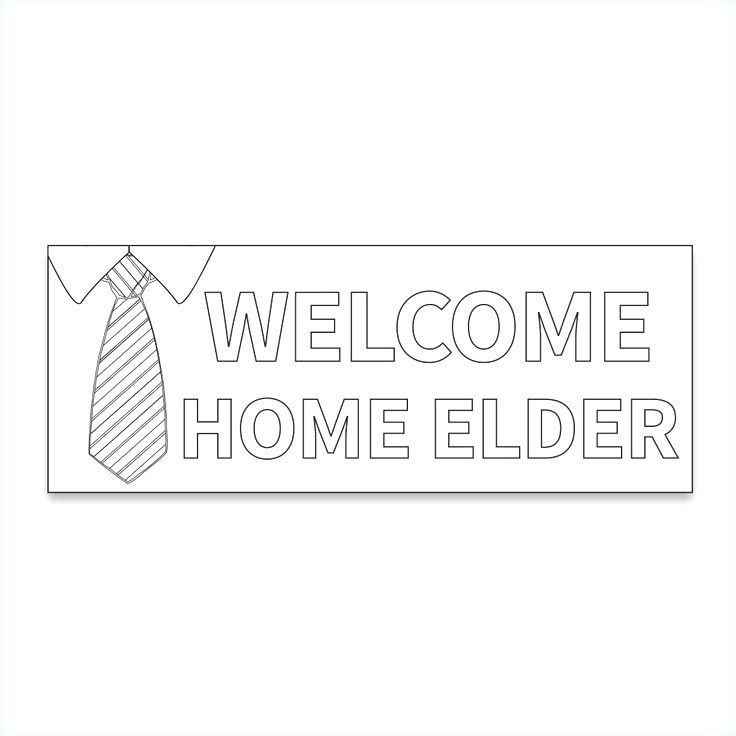 mormon missionary name tag template