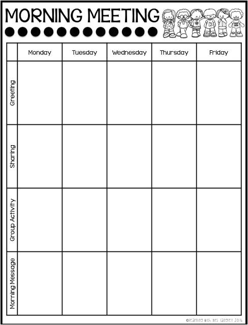 Morning Meeting Lesson Plan Template 25 Best Ideas About Morning Meeting Kindergarten On