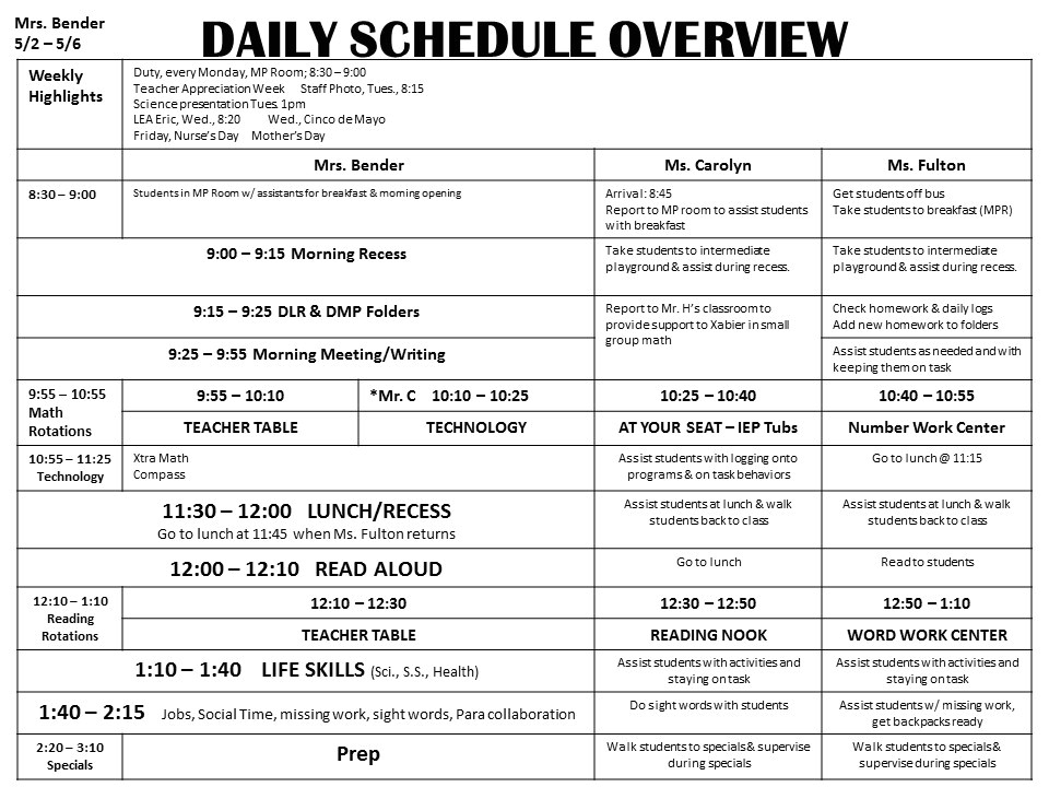 morning meeting lesson plan template the bender bunch special education lesson plans 4
