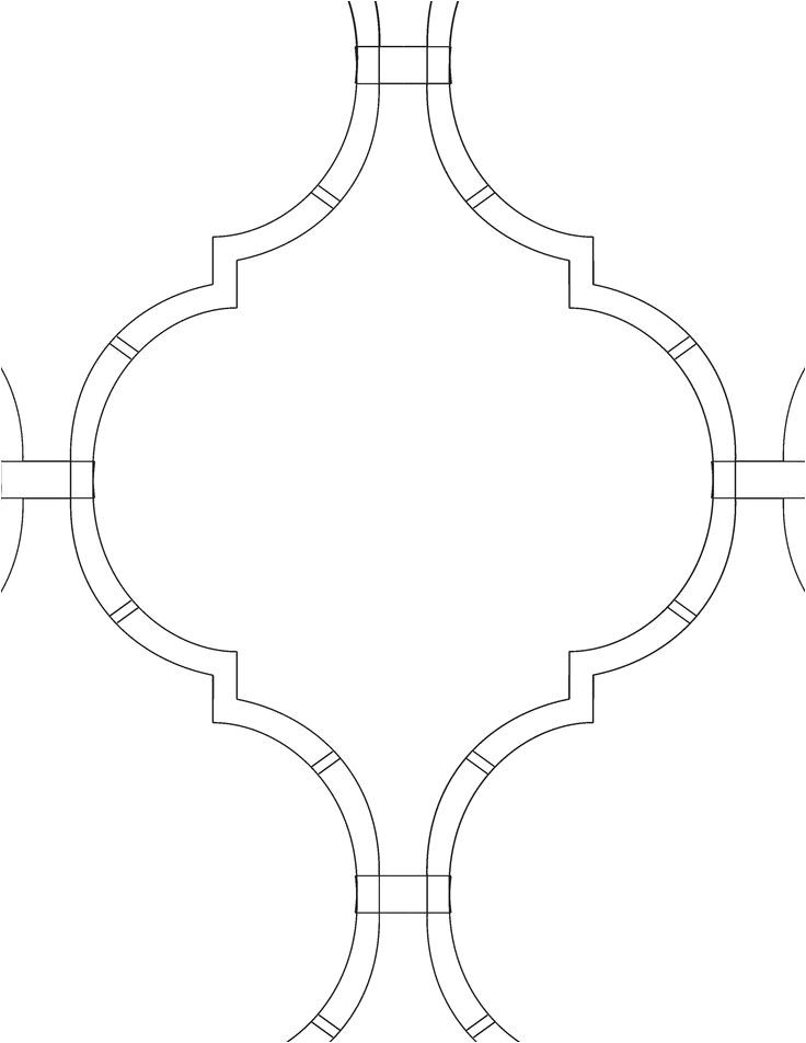 Moroccan Shapes Templates 13 Best Stencil Patterns Images On Pinterest Arabesque
