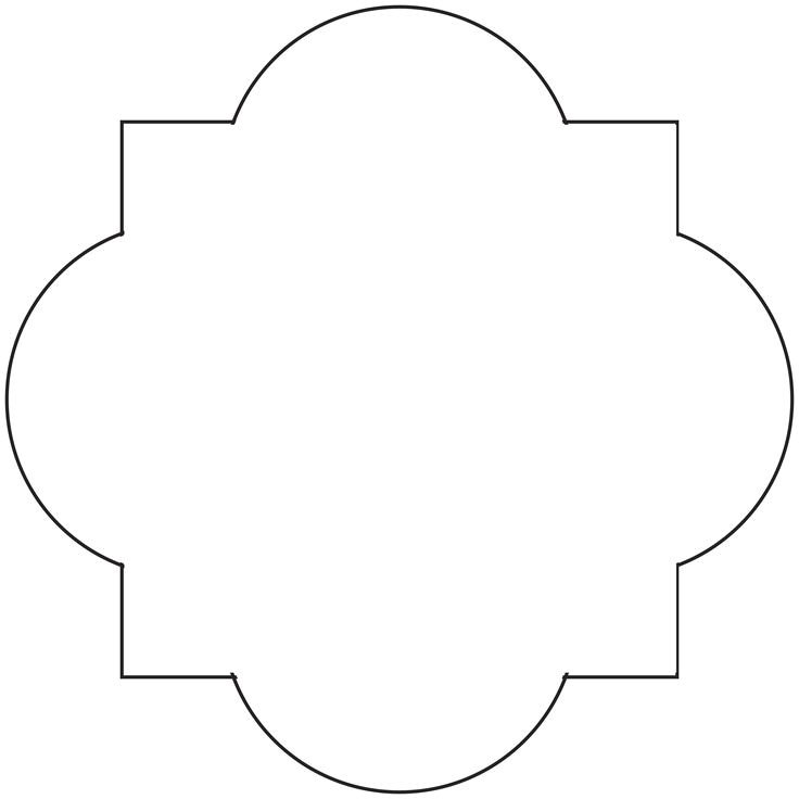 post quatrefoil stencil printable 355325