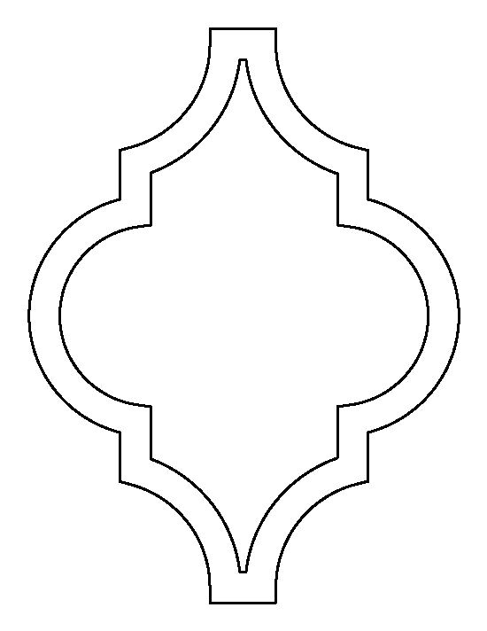 Moroccan Shapes Templates Best 25 Moroccan Stencil Ideas On Pinterest Moroccan
