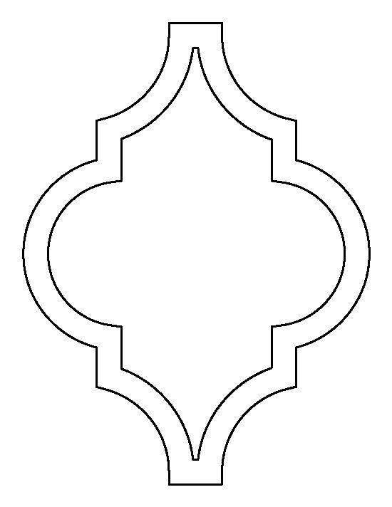 moroccan stencil