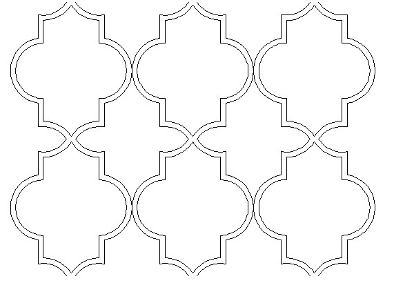 Moroccan Shapes Templates Moroccan Marrakech Pattern