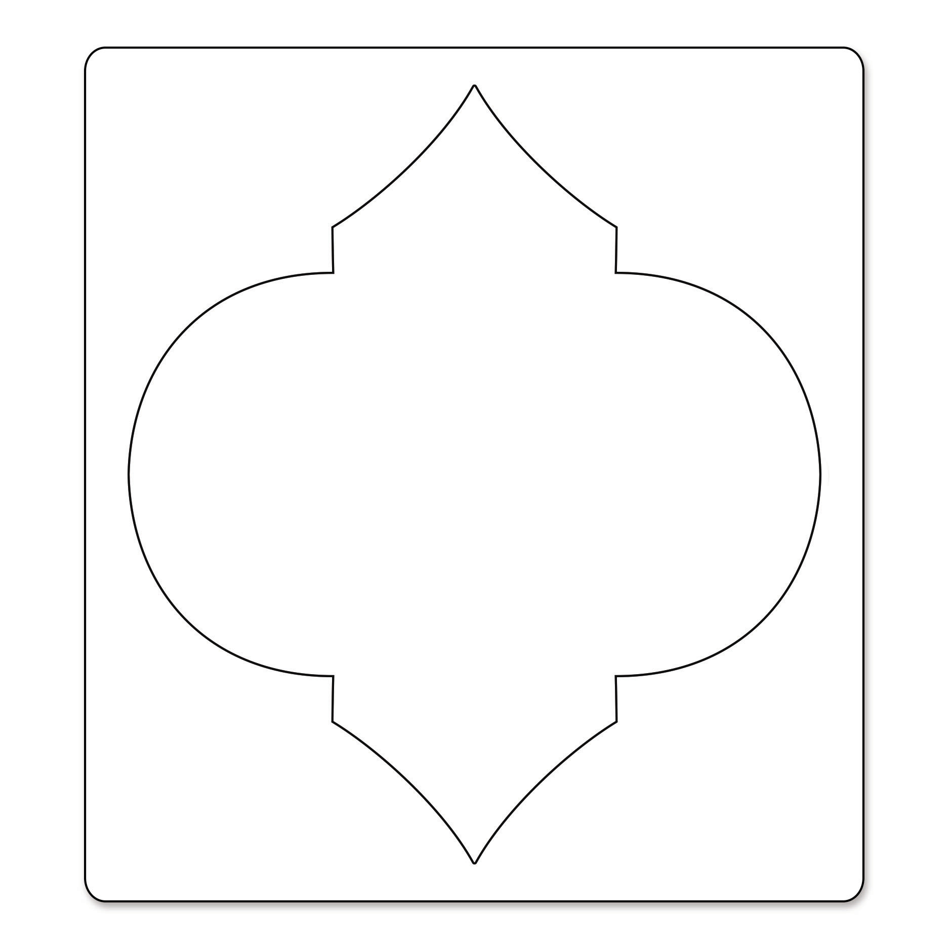 moroccan shapes templates