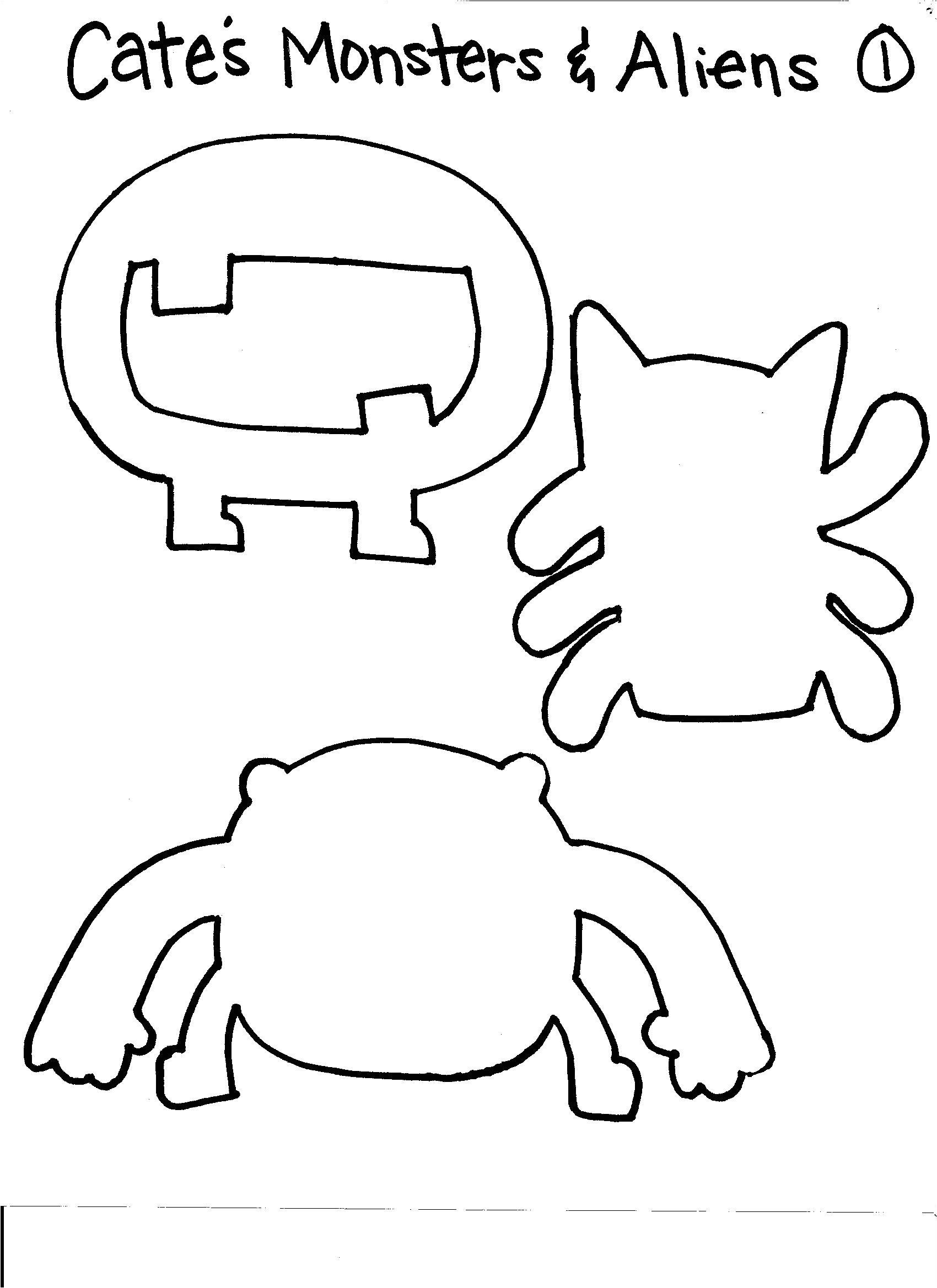 monster template