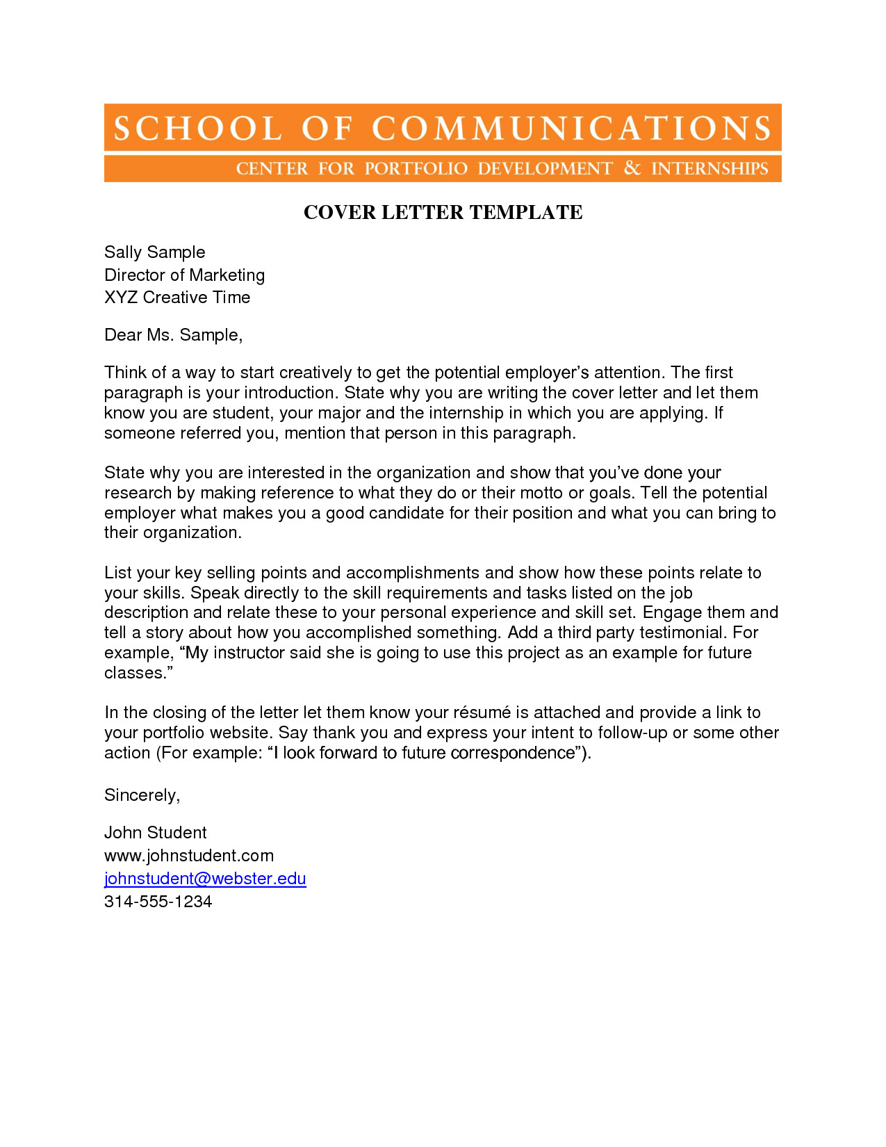 how to write a unique cover letter
