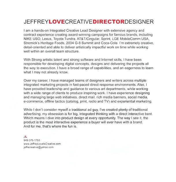 Most Creative Cover Letters Most Creative Cover Letters A Cover Letter is Designed to Free