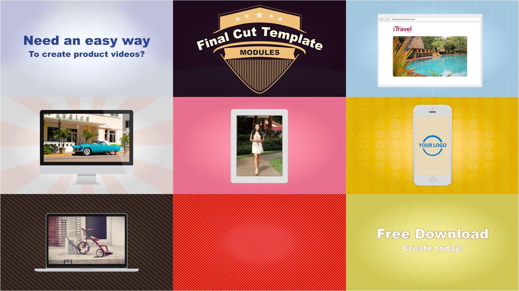 free motion 4 templates