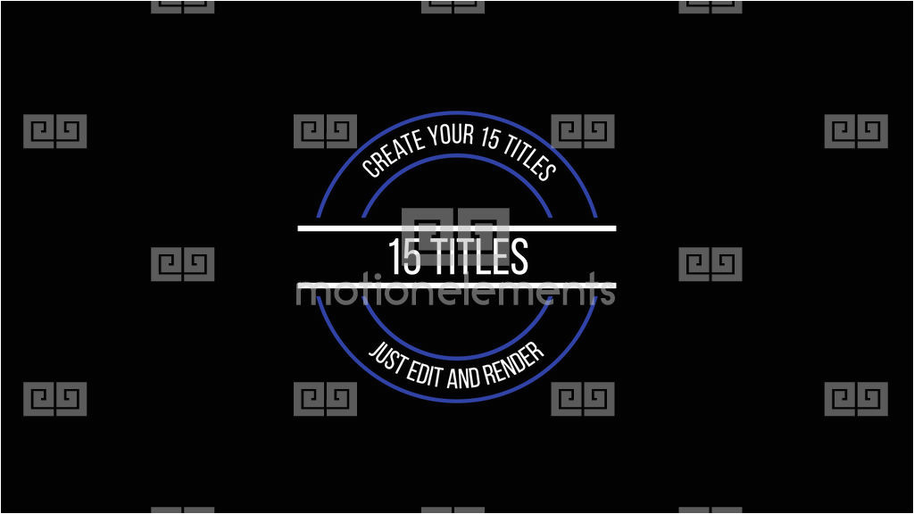 motion graphics template 10788517 5 motion titles