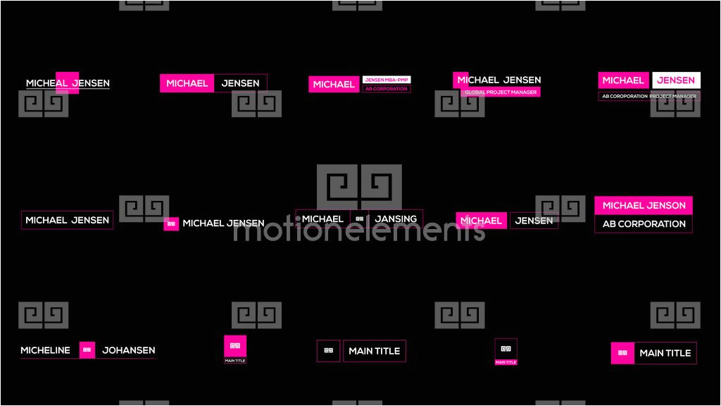 after effects template 11136242 elpis motion titles