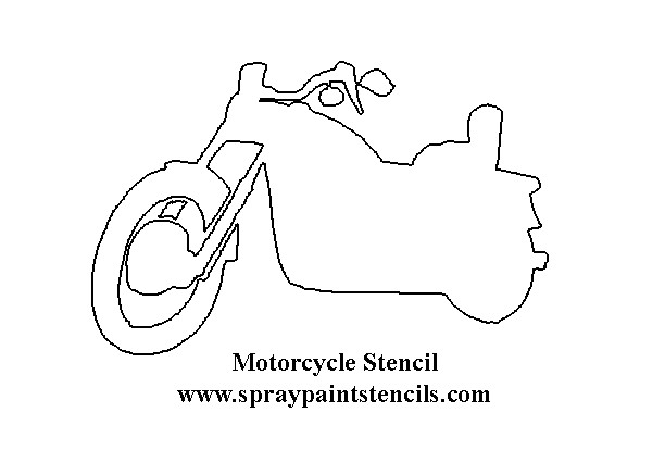 collectionmdwn motorcycle outline template