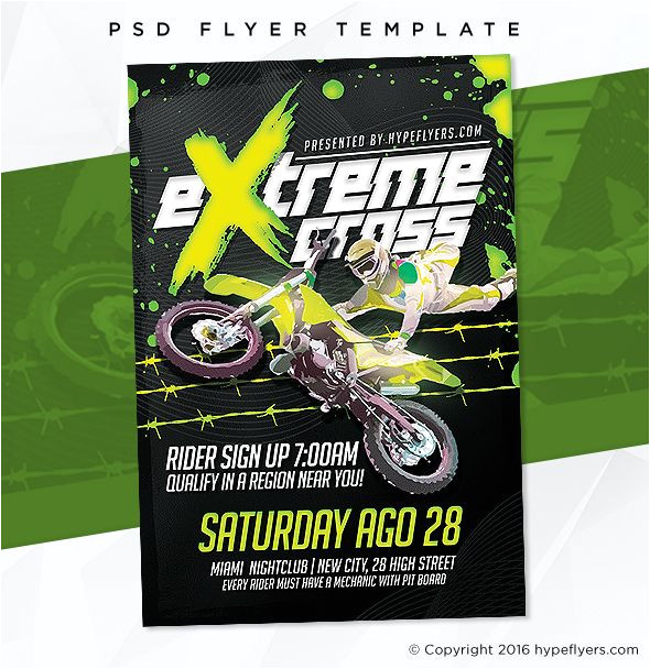 motosport templates the 7 best fashion amp elegant flyer templates images on pinterest