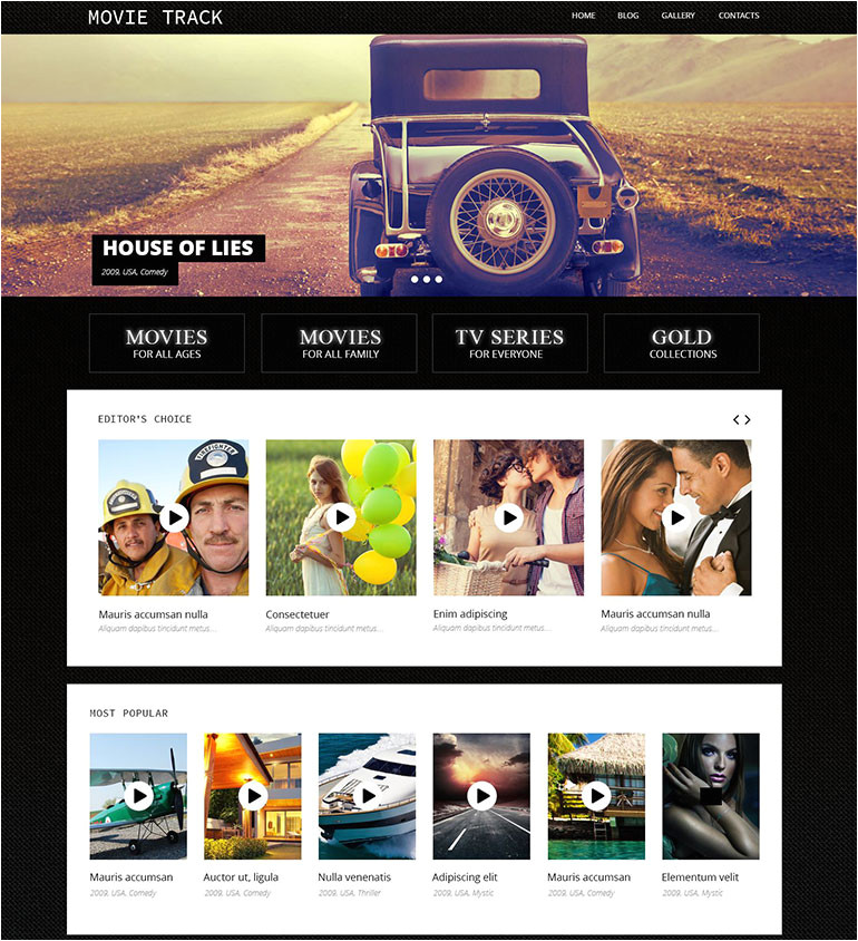 20 coolest movie templates 22329
