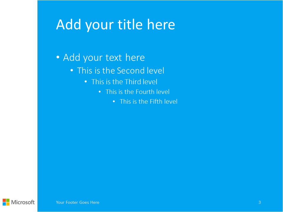 Ms Power Point Templates Microsoft Powerpoint Template Blue Presentationgo Com