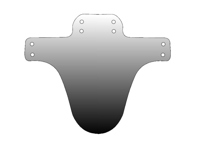 Mudguard Template Make Your Own Mudguard with This Template Pinkbike forum