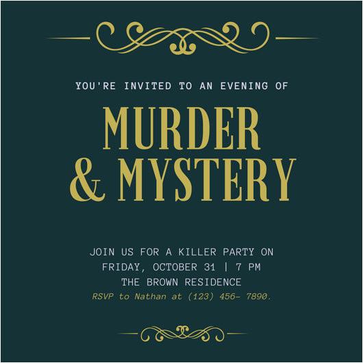 macxgugf0xo green and gold flourish elegant murder mystery invitation